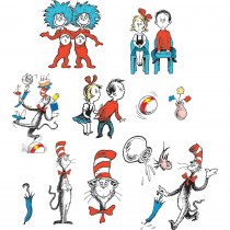 EU-840224 - Cat In The Hat Characters 2 Sided Decorating Kit in Two Sided Decorations
