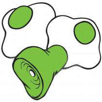 EU-841543 - Dr Seuss - Green Eggs And Ham Asst Paper Cut Outs in Accents