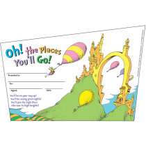 EU-843197 - Seuss-Oh The Places Youll Go Recognition Awards in Awards