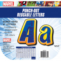 EU-845022 - Marvel Super Hero Adventure Decor Letters in Letters