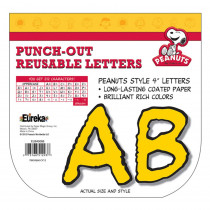 EU-845066 - Peanuts Deco Letters Yellow in Letters
