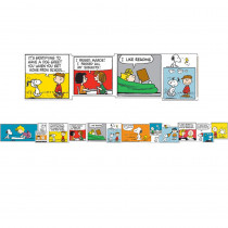 EU-845072 - Peanuts Comic Blocks Extra Wide Deco Trim in Border/trimmer