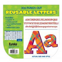 EU-845200 - Plaid Attitude Orange Letters Deco Letters in Letters