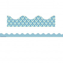 EU-845276 - Blue Harmony Peacock Deco Trim in General