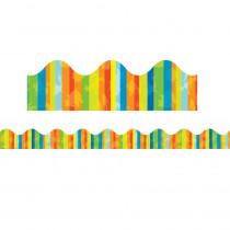 EU-845387 - Dr Seuss Stripes Trim Extra Wide Die Cut Deco Fashion in General
