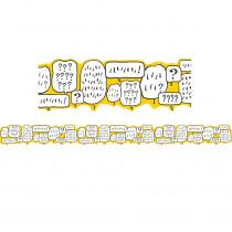 EU-845388 - Peanuts Bubble Ex Wide Diecut Trim Touch Of Class in General