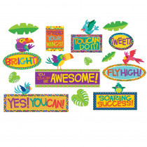 EU-847036 - You Can Motivational Mini Bulletin Board Set in Classroom Theme