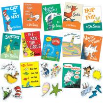 EU-847041 - Seuss Books Mini Bulletin Board Set in Classroom Theme