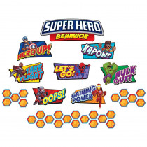 EU-847044 - Marvel Super Hero Adventure Behavior Mini Bbs in Classroom Theme