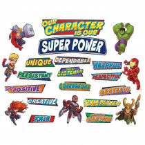 EU-847045 - Marvel Super Hero Adventure Hero Traits Mini Bbs in Classroom Theme
