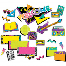 EU-847049 - Rock The Classroom Mini Bulletin Board Set in Classroom Theme