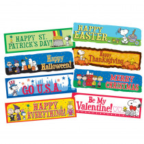EU-847063 - Peanuts Year Of Holidays Mini Bulletin Board Set in Holiday/seasonal