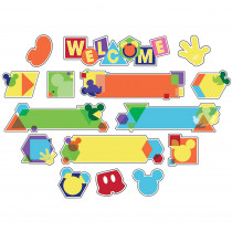EU-847067 - Geo Mickey Welcome Mini Bb St in Classroom Theme