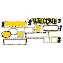 EU-847075 - Peanuts Touch Of Class Welcome Set Mini Bulletin Board Set in Classroom Theme