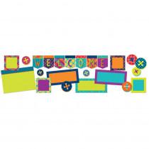 EU-847076 - Plaid Attitude Welcome Bb St in Classroom Theme