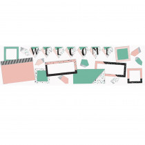 EU-847087 - Welcome Bulletin Board St Simply Sassy in Classroom Theme