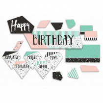 EU-847089 - Birthday Mini Bulletin Board St Simply Sassy in Classroom Theme