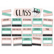 EU-847092 - Class Jobs Mini Bulletin Board St Simply Sassy in Classroom Theme