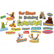 EU-847221 - Muppets - Our Class Has Character Mini Bulletin Board Set in Classroom Theme
