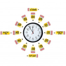 EU-847423 - Telling Time Bulletin Board Set in Math