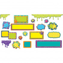 EU-847541 - Color My World Classroom Signs And Frames Mini Bulletin Board Set in Classroom Theme