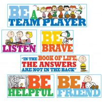 EU-847542 - Peanuts Quotes Bulletin Board Set in Classroom Theme
