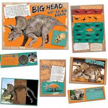 EU-847561 - Smithsonian Amzing Dinosaurs Mascot Bulletin Board Sets in Science