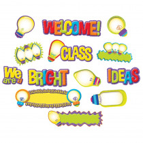 EU-847610 - Light Bulb Mini Bulletin Board Set in Classroom Theme