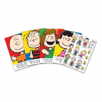 EU-847659 - Peanuts Characters And Motivational Phrases Bulletin Board Set in Motivational