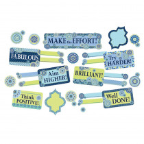 EU-847778 - Blue Harmony Class Manage Mini Bulletin Board Set in General