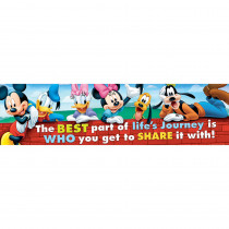 EU-849037 - Mickey Friendship Classroom Banner in Banners