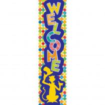 EU-849278 - Dr Seuss Spot Seuss Welcome Banner Vertical in General