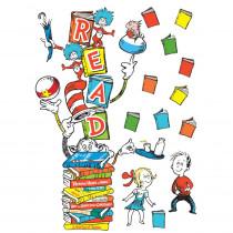 EU-849314 - Dr Seuss Reading Door Decor Kit in Accents