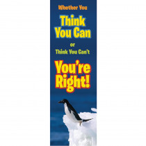 EU-849454 - Whether  You Think You Can Jumbo Banner in Banners
