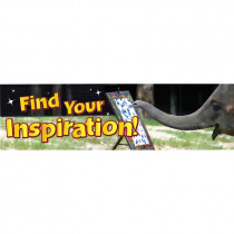 EU-849456 - Find Your Inspiration Jumbo Banner in Banners