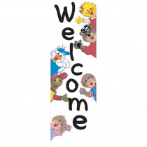EU-849600 - Suzys Zoo Welcome Banner in Banners