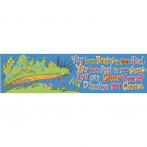 EU-849616 - Seuss - Oh The Places Youll Go Banner Classroom in Banners