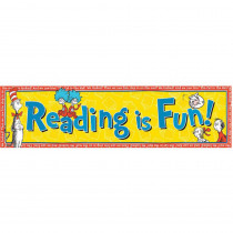 EU-849662 - Classroom Banners Reading Is Fun in Banners