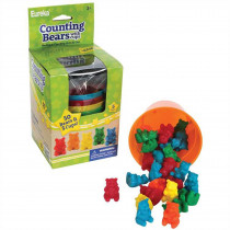 EU-864040 - Counting Bear Cups 50 Ct Bears 5 Cups in Counting