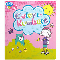 EU-BCNB14584 - Girl 3 Color By Numbers Book in Art Activity Books