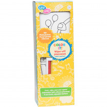 EU-BIM218427 - Color It Fair Wipe Off Placemat With Markers in Art & Craft Kits