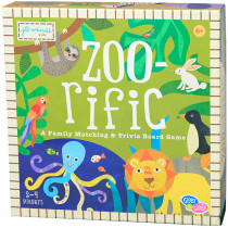 EU-BKBG18436 - Zoorific Paper Based Board Game in Games