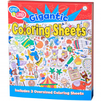 EU-BTC18428 - Ready Set Color Giant Coloring Book in Art Activity Books