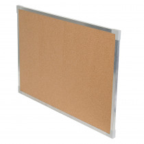 FLP10310 - Aluminum Framed Cork Board 24X36 in Cork Boards