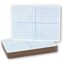 FLP11200 - X Y Axis Dry Erase Boards 12/Pack in Dry Erase Boards