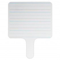 FLP18002 - Rectangle Lined Answer Paddle Dry Erase in Dry Erase Boards
