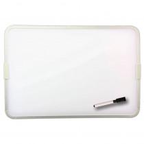 FLP18232 - 2 Sided Magnetic Dry Erase Board Framed W/ Pen And Cap Eraser in Dry Erase Boards