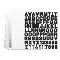 "20 x 30"" White Corrugated Project Sheet Sign Kit - Pack of 25 - FLP3230125 | Flipside | Presentation Boards"""