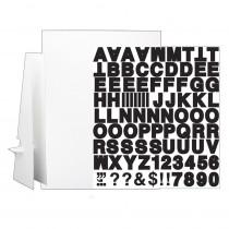 "20 x 30"" White Corrugated Project Sheet Sign Kit - Single - FLP32301 | Flipside | Presentation Boards"""