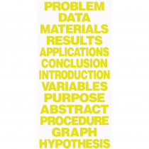 FLP50810 - Project Board Titles Yellow in Presentation Boards